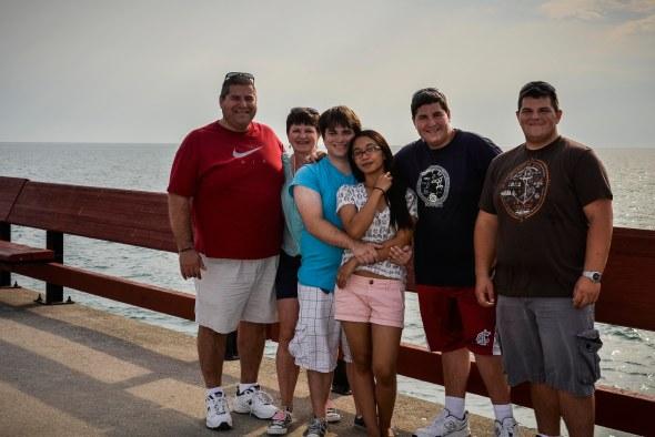 Our family, Toronto 2012